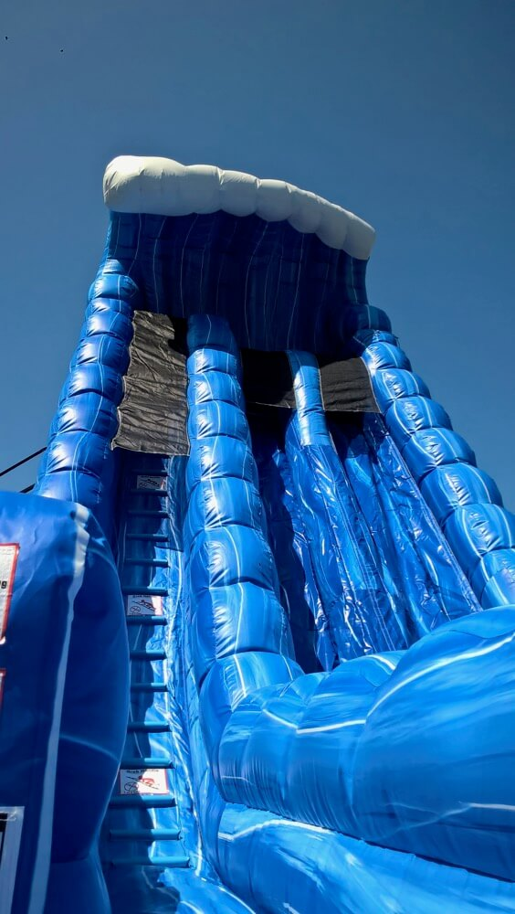 30 ft high water slide
