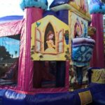 disney princess castle inflatable bouncer