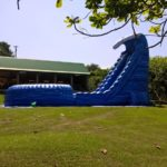 the blue crush waterslide