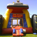 Monster Truck Inflatable Bouncer
