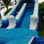 20 ft high single lane water slide